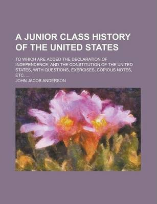 A Junior Class History of the United States; To Which Are Added the Declaration of Independence, and the Constitution of the United States, with Questions, Exercises, Copious Notes, Etc. ...