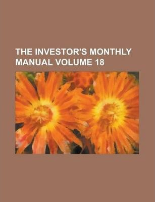 The Investor's Monthly Manual Volume 18