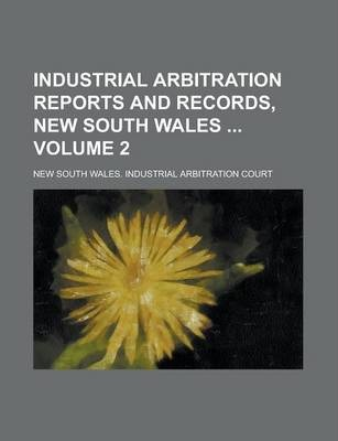 Industrial Arbitration Reports and Records, New South Wales Volume 2