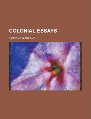 Colonial Essays