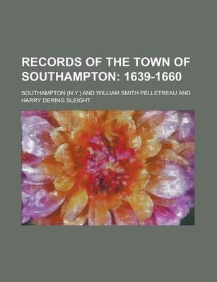 Records of the Town of Southampton