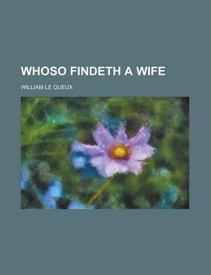 Whoso Findeth a Wife