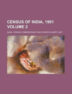 Census of India, 1901 Volume 2