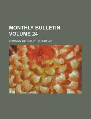 Monthly Bulletin Volume 24