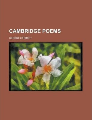 Cambridge Poems