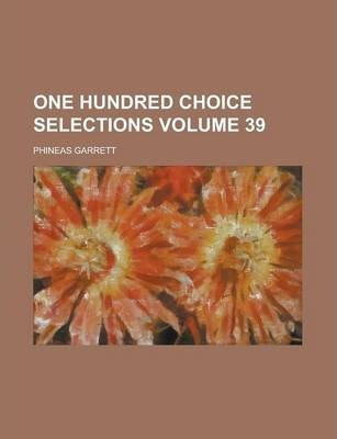 One Hundred Choice Selections Volume 39
