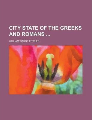 City State of the Greeks and Romans