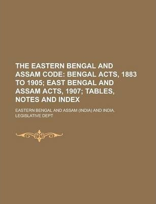 The Eastern Bengal and Assam Code