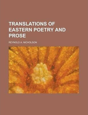 Translations of Eastern Poetry and Prose