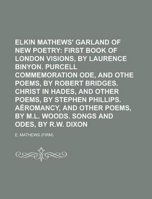 Elkin Mathews' Garland of New Poetry