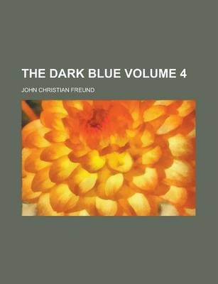 The Dark Blue Volume 4