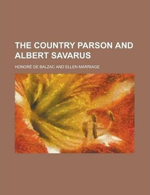 The Country Parson and Albert Savarus