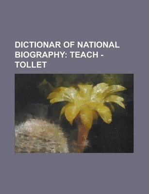 Dictionar of National Biography
