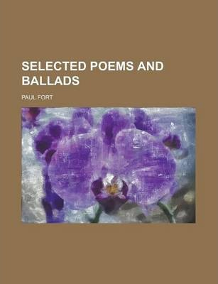Selected Poems and Ballads
