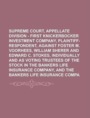 Supreme Court, Appellate Division - First Department