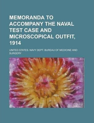 Memoranda to Accompany the Naval Test Case and Microscopical Outfit, 1914