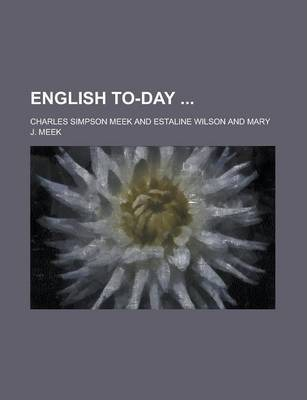 English To-Day