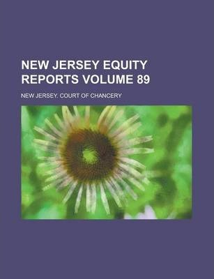 New Jersey Equity Reports Volume 89