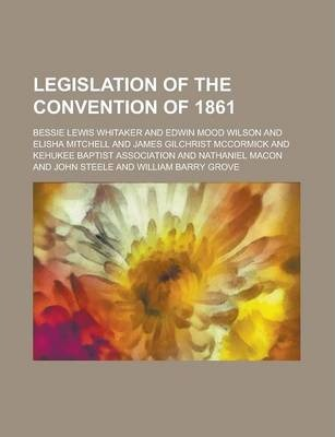 Legislation of the Convention of 1861