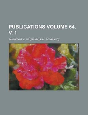Publications Volume 64, V. 1