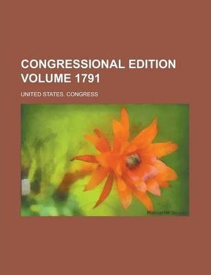 Congressional Edition Volume 1791