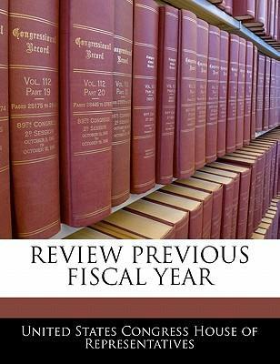 Review Previous Fiscal Year