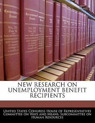 New Research on Unemployment Benefit Recipients