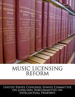 Music Licensing Reform