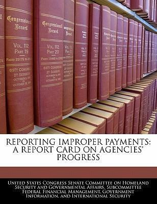 Reporting Improper Payments