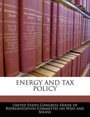 Energy and Tax Policy