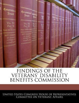 Findings of the Veterans' Disability Benefits Commission