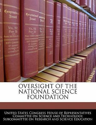 Oversight of the National Science Foundation