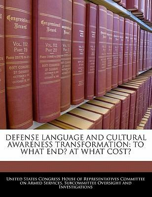 Defense Language and Cultural Awareness Transformation