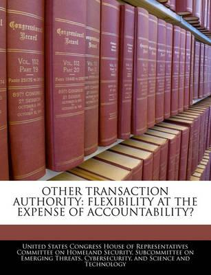 Other Transaction Authority