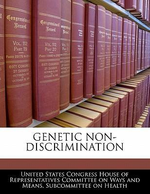 Genetic Non-Discrimination