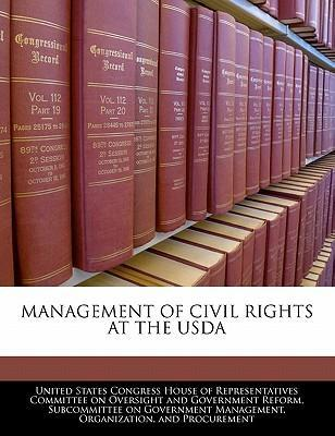 Management of Civil Rights at the USDA