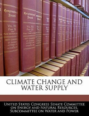 Climate Change and Water Supply