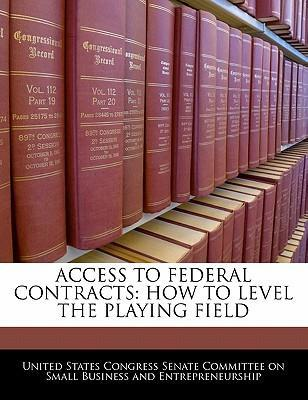Access to Federal Contracts