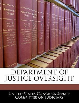 Department of Justice Oversight