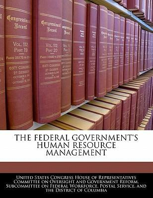 The Federal Government's Human Resource Management