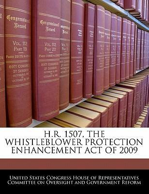 H.R. 1507, the Whistleblower Protection Enhancement Act of 2009
