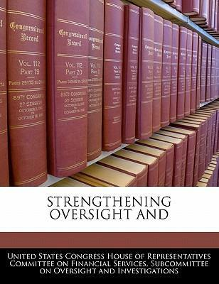 Strengthening Oversight and