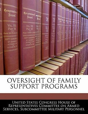 Oversight of Family Support Programs