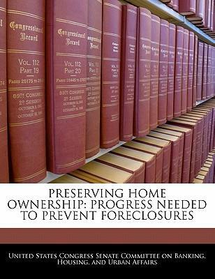 Preserving Home Ownership