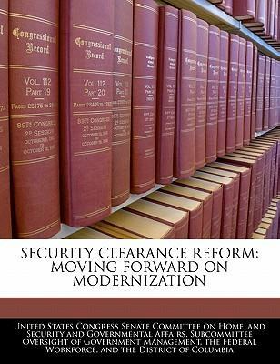 Security Clearance Reform