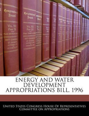 Energy and Water Development Appropriations Bill, 1996