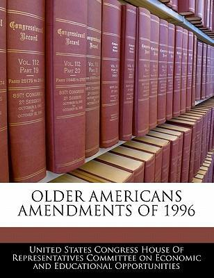 Older Americans Amendments of 1996