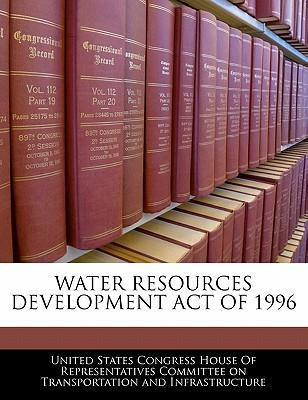 Water Resources Development Act of 1996