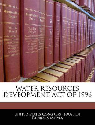 Water Resources Deveopment Act of 1996