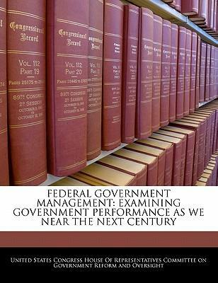 Federal Government Management